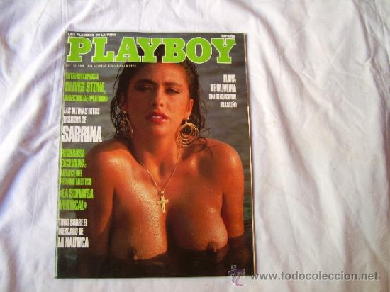 Playboy Nº 112 Sabrina Desnuda Oliver Stone Sold At Auction