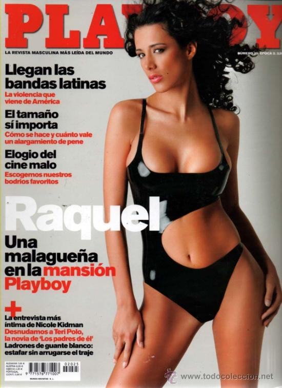 Playboy Nº 25 Epoca 2 Raquel Quero Cara Zavalet Sold Through