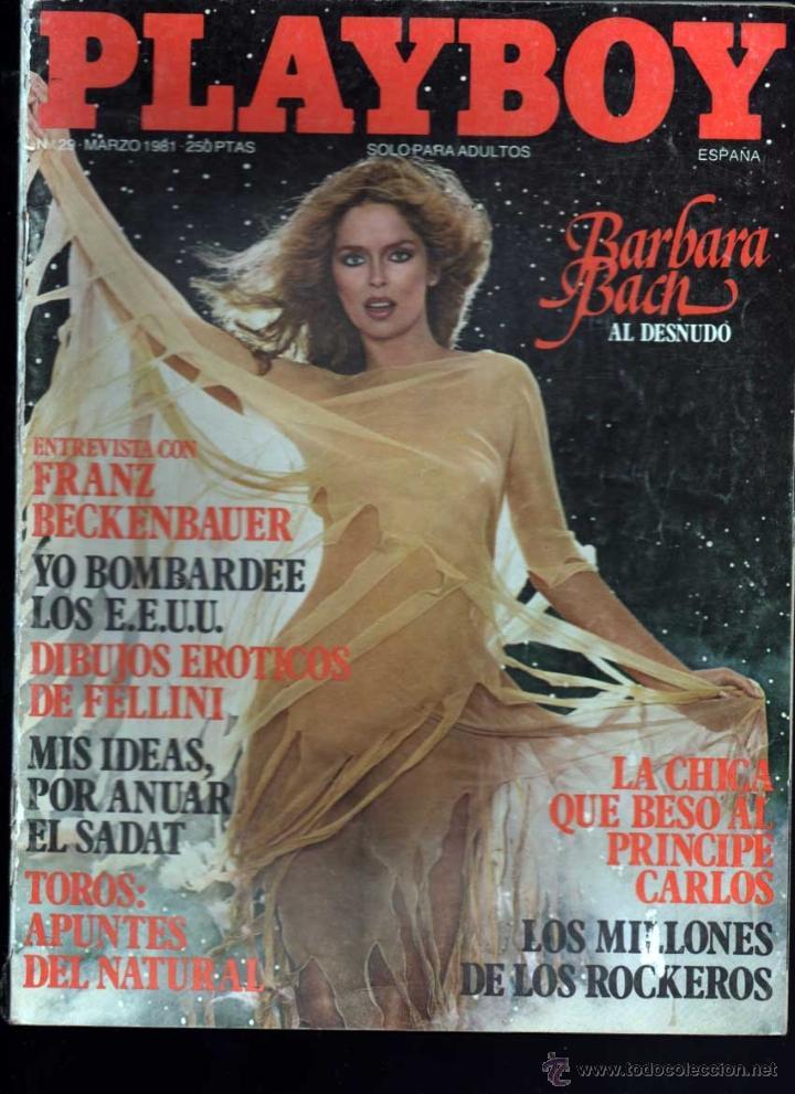 Playboy Nº 29 Barbara Bach Al Desnudo Franz Bec Vendido En Venta