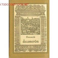 Libros: LUJO. 2 TOMOS.BOCCACCIO.DECAMERON ILUSTRA NARRO.EROTICA. Lote 26630168