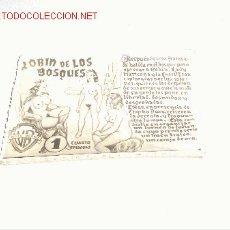 Libros: HISTORIA EROTICA DE ROBIN DE LOS BOSQUES. Lote 27402289