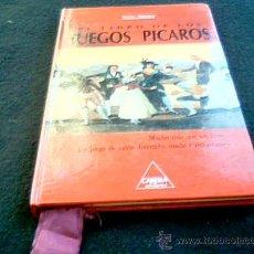 Libros: EL LIBRO DE LOS JUEGOS PICAROS. ISAAC MATUTE. CARENA EDITORES, 1990.. Lote 27262735
