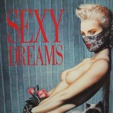 Libros: PRECIOSO LIBRO EROTICO, SEXY DREAMAS TACO. 1987. 79 PAGINAS . MIDE 23 X 30CM. EDIT. EN INGLES. Lote 20884546
