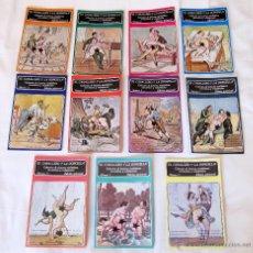 Libros: LOTE 11 NUMEROS EL CABALLERO Y LA DONCELLA - 1979 - LECTURAS SICALÍPTICAS, SARCÁSTICAS Y VOLUPTUOSAS. Lote 47136059