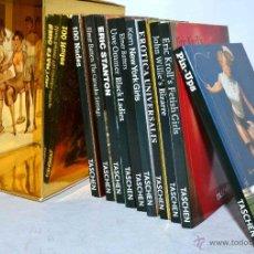 Libros: COLECCION , LOTE 10 MINI LIBROS..JOYAS EROTICAS EN MINIATURA (10X8CM)...A PASSION FOR TASCHEN... Lote 49047437