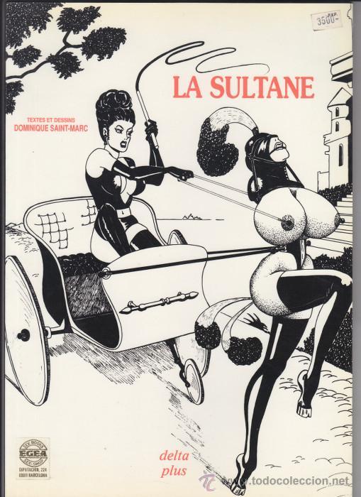 LA SULTANE, DOMINIQUE SAINT-MARC. DELTA PLUS 1992. SADO BONDAGE S/M (Coleccionismo para Adultos - Libros)