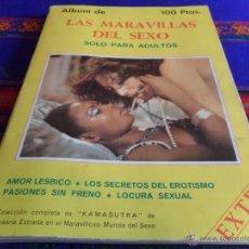 Libros: LAS MARAVILLAS DEL SEXO RETAPADO COL. COMPLETA LOS KAMASUTRA DE SUSANA ESTRADA. REGALO LA JOYA SEXO.. Lote 52978844