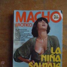 Libros: MACHO EROTICO , LA NIÑA SALVAJE , LIBRO POR TABITA PERALTA . 169 PAGINAS AÑO 1980. Lote 54798200