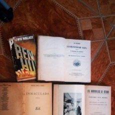 Libros: LOTE DE LIBROS. Lote 80064333