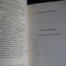 Libros: LOTE DE 2 LIBROS LITERATURA ERÓTICA, , VER FOTOS. Lote 99946027