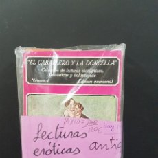 Libros: LOTE DE 14 NOVELAS ERÓTICAS ANTIGUAS. Lote 101087359