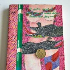 Libros: LIBRO EL POLVO AZUL CUENTOS DEL NUEVO MUNDO ELÉCTRICO- HARO IBAS EDICIONES LIBERTARIAS 1985 . Lote 108063039