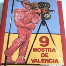 Libros: LIBRO CINEMA DEL MEDITERRANI PROGRAMA 9° MOSTRA DE VALENCIA 1988. Lote 108758487