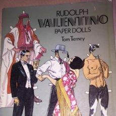 Libros: LIBRO RUDOLPH VALENTINO PAPERAS DOLLS. Lote 109096823