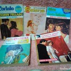 Libros: CINCO NOVELAS DE BOLSILLO ROMANTCAS AÑOS 60. Lote 119049743