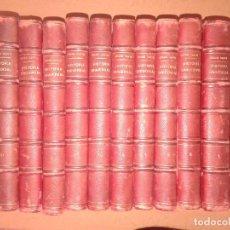 Libros: HISTORIA UNIVERSAL DE CESAR CANTÚ 1888, ATLAS + 11 TOMOS,. Lote 129547991