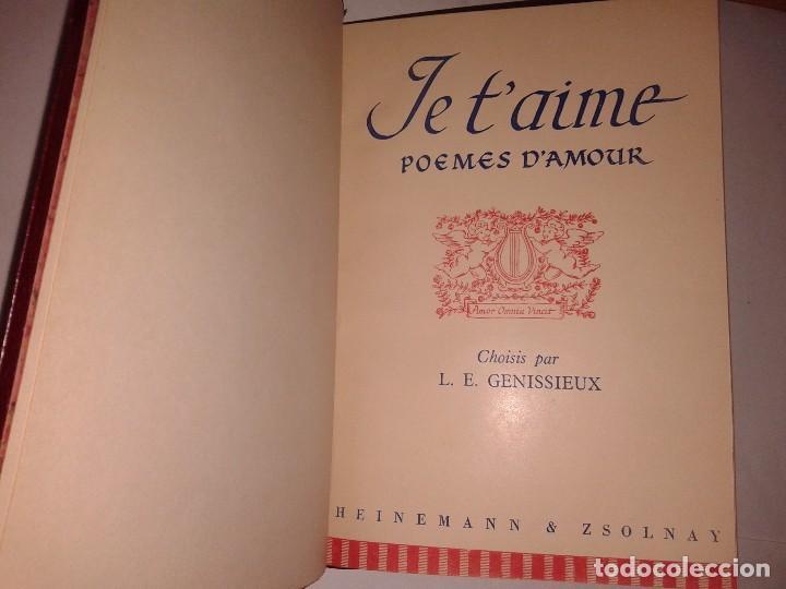 Je Taime Poemes Damourchoisis Par Le Genissieux