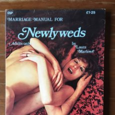 Libros: MARRIAGE MANUAL FOR NEWLYWEDS. Lote 162355314