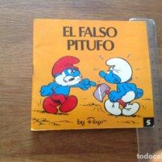 Libros: EL PITUFO FALSO 1 EDICIÓN BRUGUERA . Lote 173050745