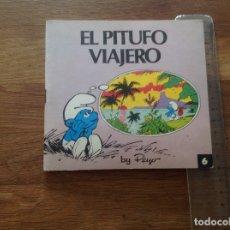 Libros: EL PITUFO VIAJERO 1 EDICIÓN BRUGUERA . Lote 173050960