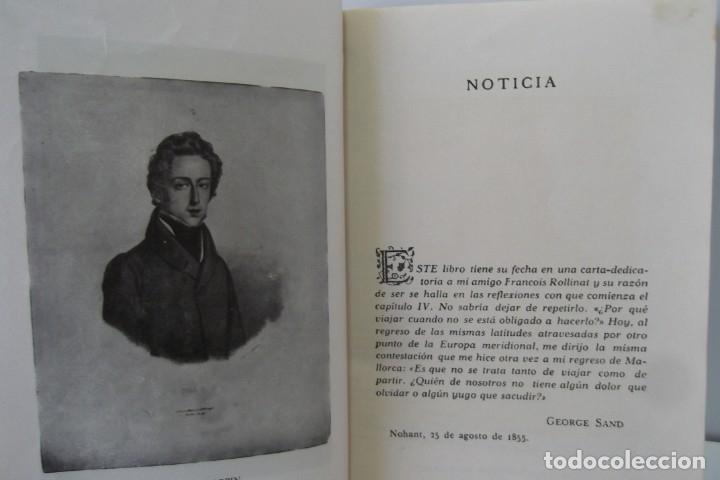 Libros: # GEORGE SAND # UN INVIERNO EN MALLORCA # MCMLI- 1951 # - Foto 2 - 176642580