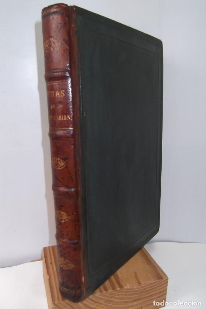 ¡¡ VIAJES A ITALIA Y AMERICA , + 2 OBRAS F. A. CHATEAUBRIAND . AÑO 1871 !! (Coleccionismo para Adultos - Libros)