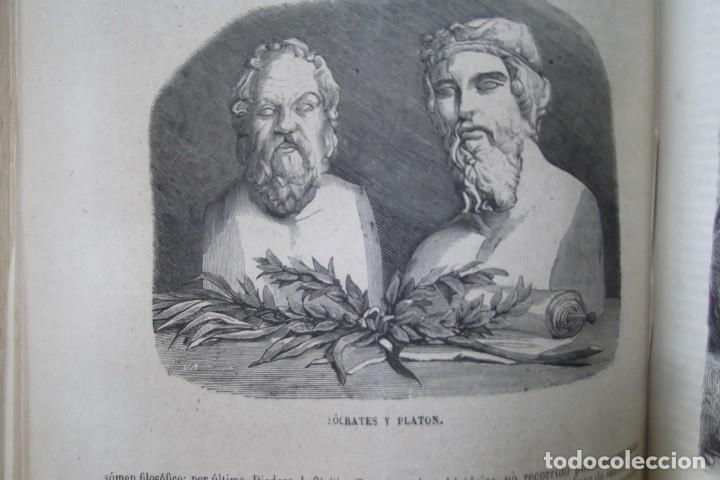 Libros: ¡¡ VIAJES A ITALIA Y AMERICA , + 2 OBRAS F. A. CHATEAUBRIAND . AÑO 1871 !! - Foto 8 - 180238446