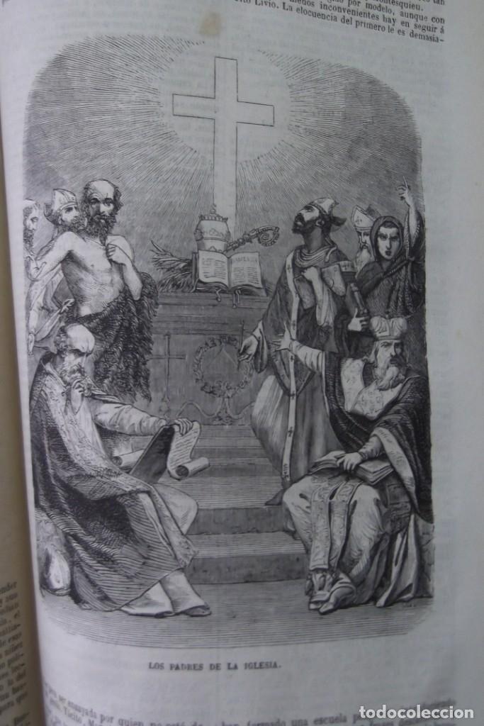 Libros: ¡¡ VIAJES A ITALIA Y AMERICA , + 2 OBRAS F. A. CHATEAUBRIAND . AÑO 1871 !! - Foto 9 - 180238446
