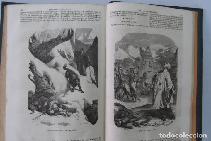 Libros: ¡¡ VIAJES A ITALIA Y AMERICA , + 2 OBRAS F. A. CHATEAUBRIAND . AÑO 1871 !! - Foto 10 - 180238446