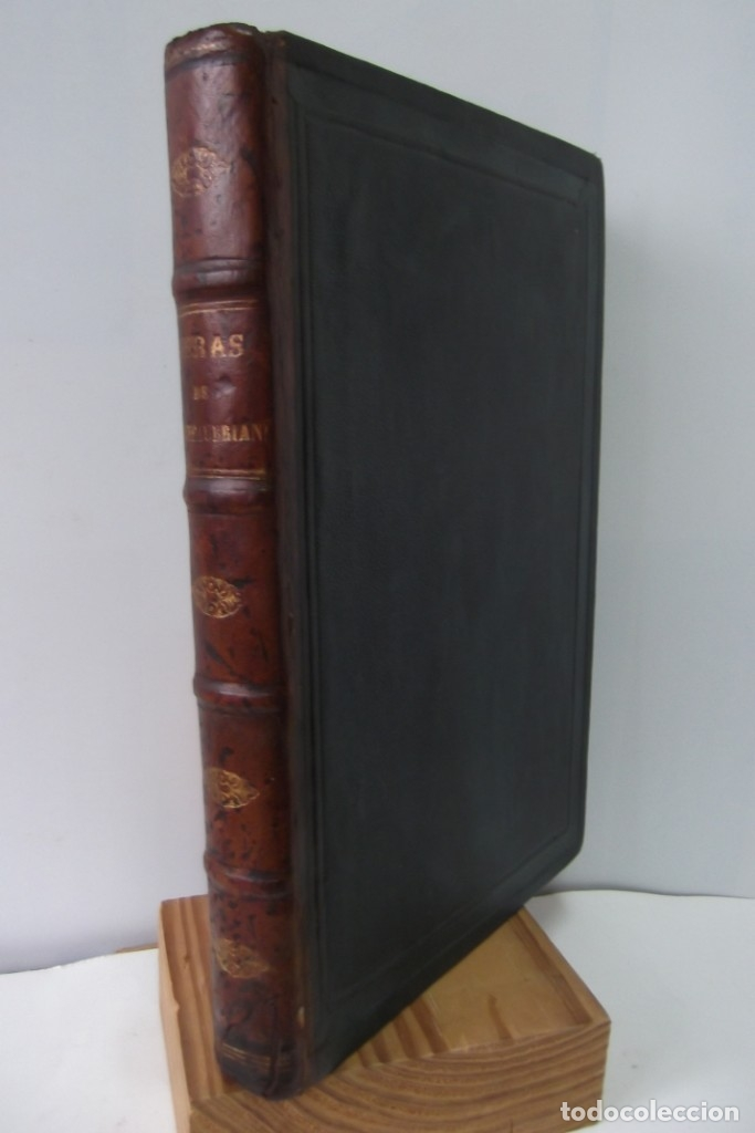Libros: ¡¡ VIAJES A ITALIA Y AMERICA , + 2 OBRAS F. A. CHATEAUBRIAND . AÑO 1871 !! - Foto 11 - 180238446