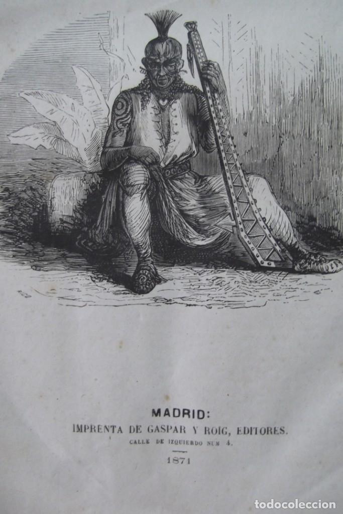Libros: ¡¡ VIAJES A ITALIA Y AMERICA , + 2 OBRAS F. A. CHATEAUBRIAND . AÑO 1871 !! - Foto 12 - 180238446