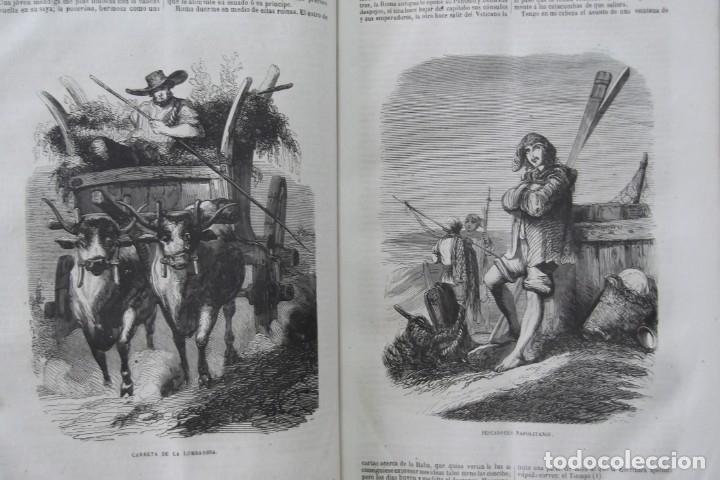 Libros: ¡¡ VIAJES A ITALIA Y AMERICA , + 2 OBRAS F. A. CHATEAUBRIAND . AÑO 1871 !! - Foto 14 - 180238446