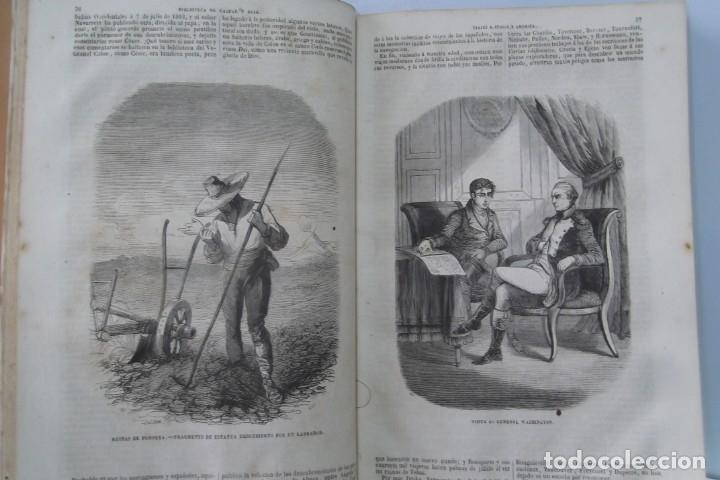 Libros: ¡¡ VIAJES A ITALIA Y AMERICA , + 2 OBRAS F. A. CHATEAUBRIAND . AÑO 1871 !! - Foto 15 - 180238446
