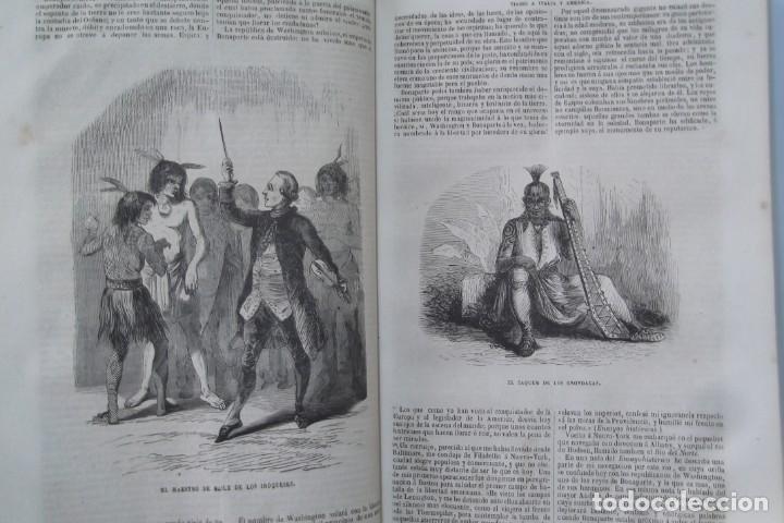 Libros: ¡¡ VIAJES A ITALIA Y AMERICA , + 2 OBRAS F. A. CHATEAUBRIAND . AÑO 1871 !! - Foto 16 - 180238446