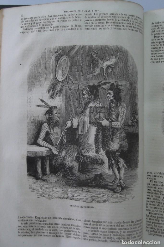 Libros: ¡¡ VIAJES A ITALIA Y AMERICA , + 2 OBRAS F. A. CHATEAUBRIAND . AÑO 1871 !! - Foto 17 - 180238446