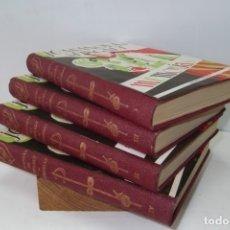 Libros: # GIACOMO CASANOVA # MEMORIAS # EL MAYOR SEDUCTOR # 4 TOMOS # 1959 #. Lote 180241205