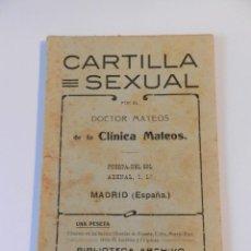 Libros: LOTE DE 5 LIBROS TEMÀTICA SEXUAL - OBSERVAR IMÁGENES CONSULTAR 1ER TERCIO S XX. Lote 180856421