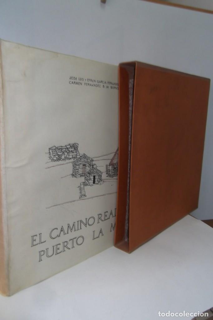 # EL CAMINO REAL DEL PUERTO LA MESA - VIA ROMANA #COLEGIO DE ARQUITECTOS DE LEON Y ASTURIAS# FIRMADO (Coleccionismo para Adultos - Libros)