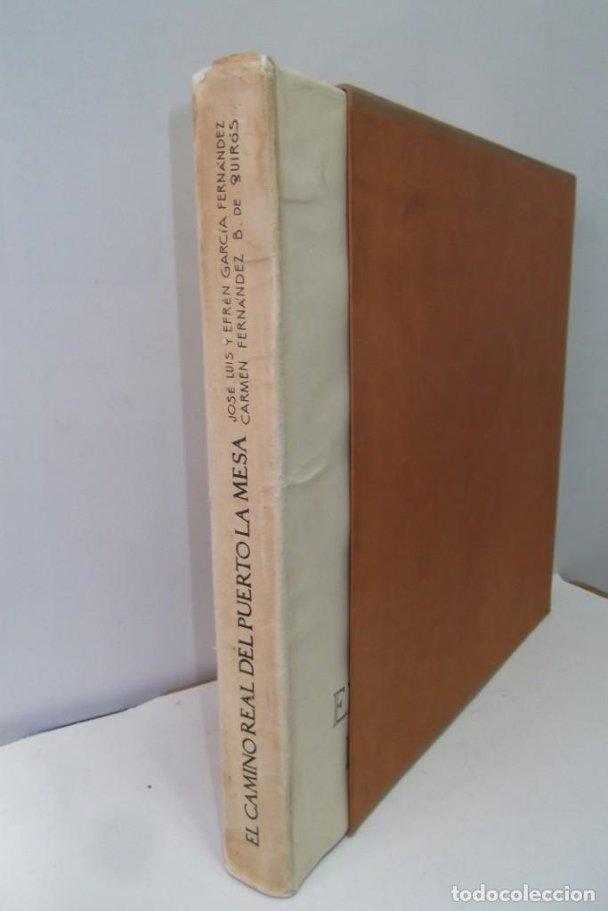 Libros: # EL CAMINO REAL DEL PUERTO LA MESA - VIA ROMANA #COLEGIO DE ARQUITECTOS DE LEON Y ASTURIAS# FIRMADO - Foto 11 - 181113742