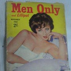 Libros: REVISTA MEN ONLY , NOVIEMBRE 1960, PUBLICACIÓN EN INGLÉS, VER FOTOS. Lote 200819643