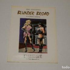 Libros: ERIC STANTON BLUNDER BROAD. Lote 201819082