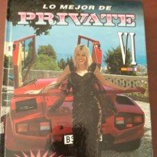 Libros: LIBRO LO MEJOR DE PRIVATE VOLUMEN VI. Lote 219299641