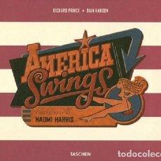 Libros: BOOK - AMERICA SWINGS - EDIC. 2010 - TEXTOS EN INGLÉS. Lote 219566253