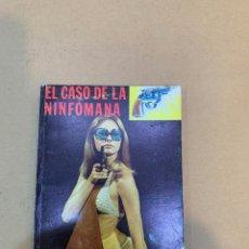 Libros: GRANT SPECK / EL CASO DE LA NINFOMANA / PORNOGRAFIA / EROTICA / NOVELA POLICIACA. Lote 227218871