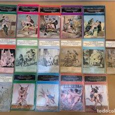 Libros: EL CABALLERO Y LA DONCELLA / LA PERLA / LA NUEVA PERLA / LECTURAS SICALIPTICAS / 16 TOMOS. Lote 227221180