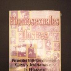 Libros: LIBRO PRECINTADO HOMOSEXUALES ILUSTRES. Lote 231903770