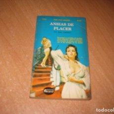 Livros: ANSIAS DE PLACER COLECCION PIMIENTA. Lote 241743010