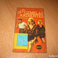 Livros: DOS GEMELAS ARDIENTES COLECCION PIMIENTA. Lote 241743690