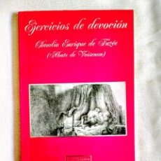 Libros: VOISENON: EJERCICIOS DE DEVOCIÓN - NUEVO. Lote 242160335