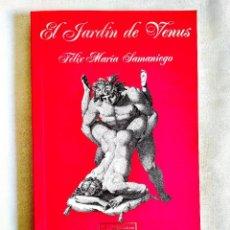 Libros: SAMANIEGO: EL JARDÍN DE VENUS - NUEVO. Lote 242160890
